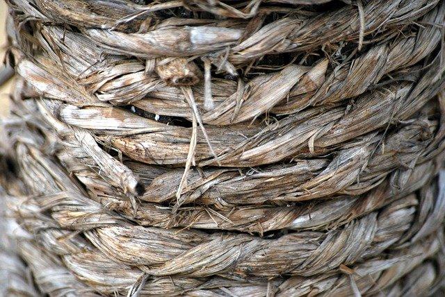 sušené lano