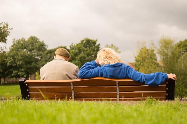 odpočinek důchodců