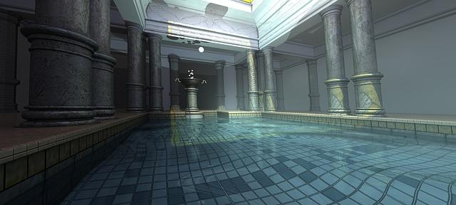 lázeňský bazén