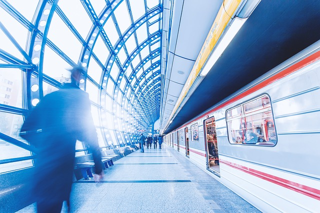 nástupiště v metru