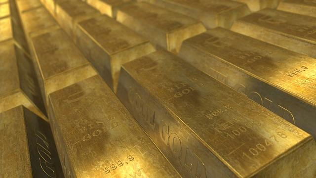 očíslované cihly zlata