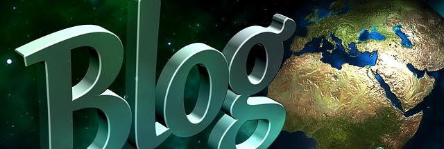blog ve vesmíru
