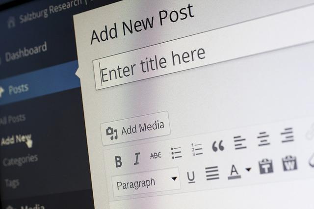 úpravy wordpress
