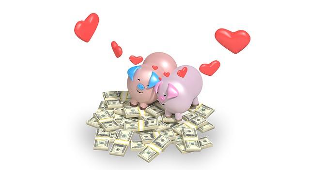prasátka na penězích
