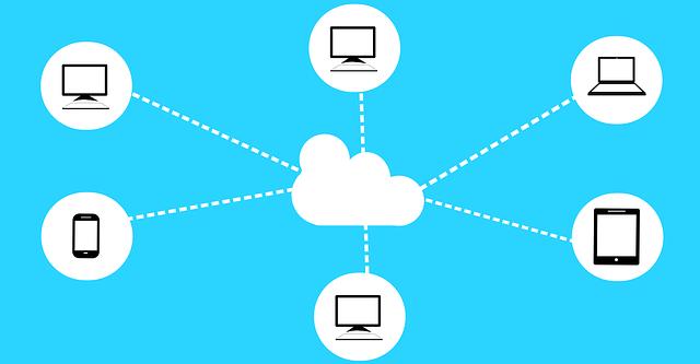 internetová síť cloud