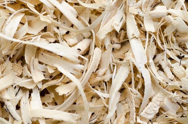 dřevěné piliny