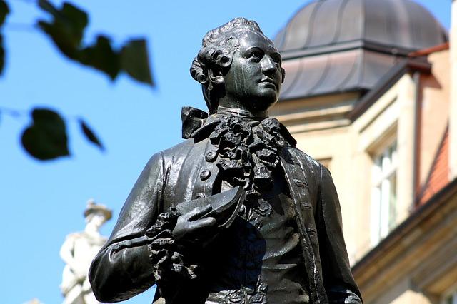 socha J. W. Goethe